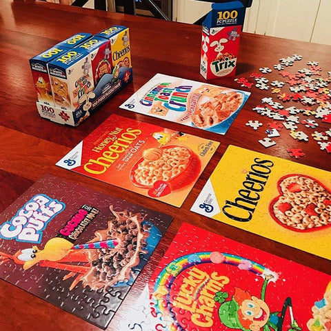 Mini Cereal Box Puzzles - It's Okay To Be Weird