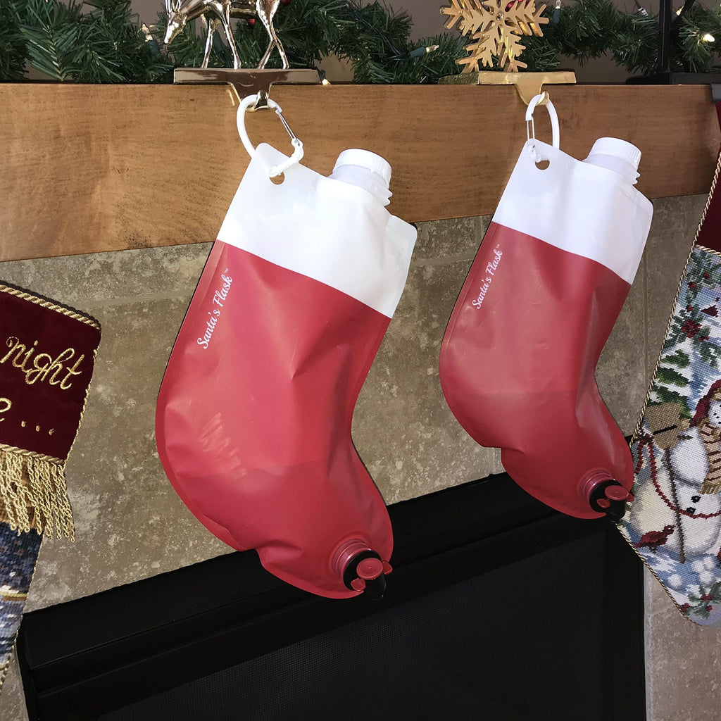 Christmas Stocking Flask - It's Okay To Be Weird