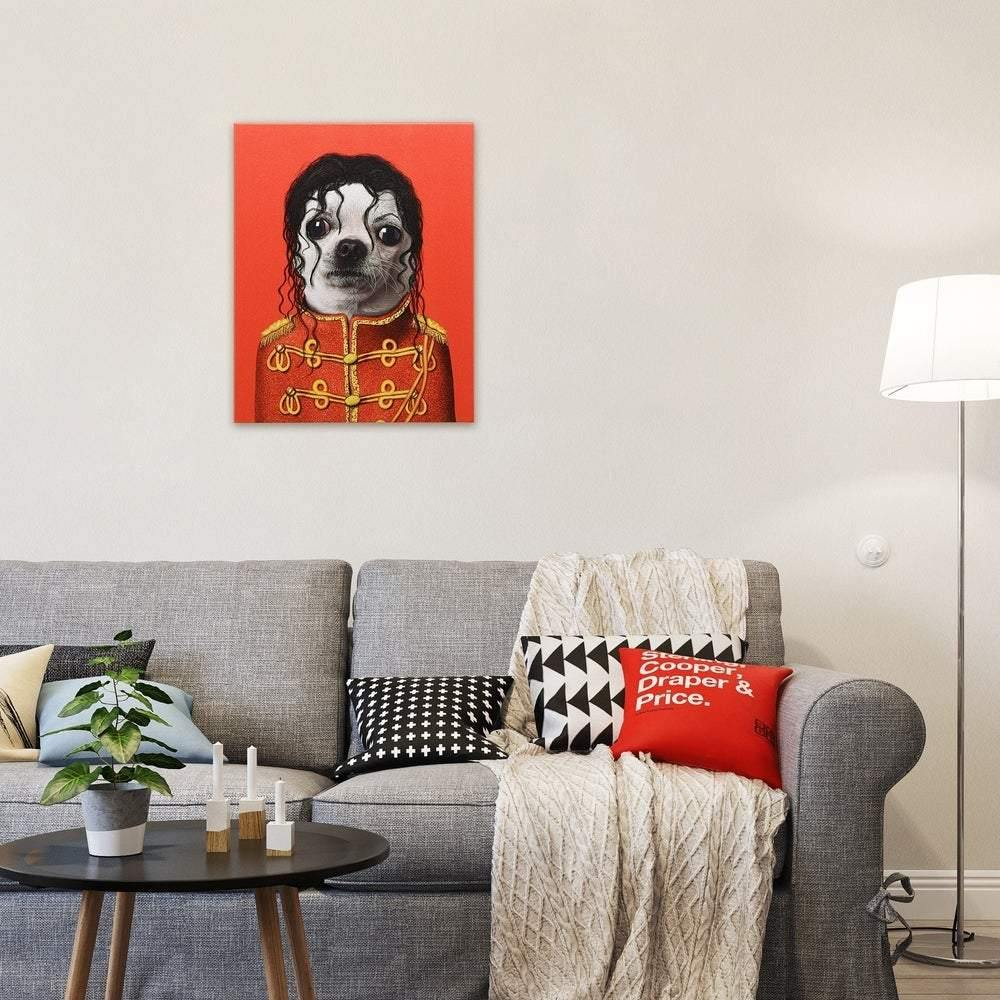 Empire Art Pets Rock 'Pop' Canvas