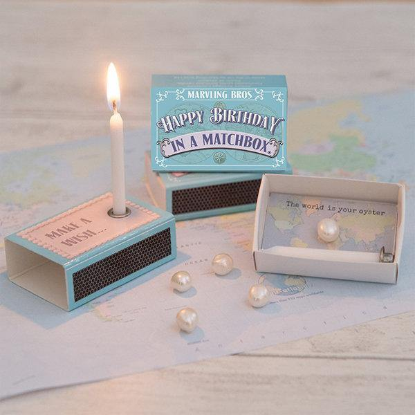 Happy Birthday In A Matchbox - It's Okay To Be Weird