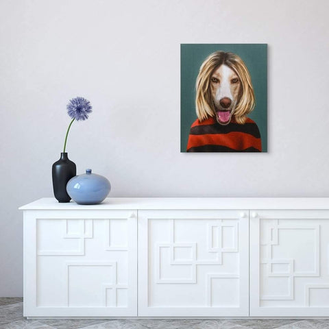 Pets Rock Grunge Wall Art