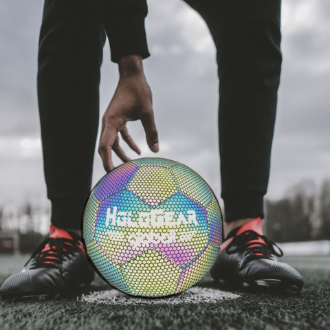 Holographic Soccer Ball - It's Okay To Be Weird