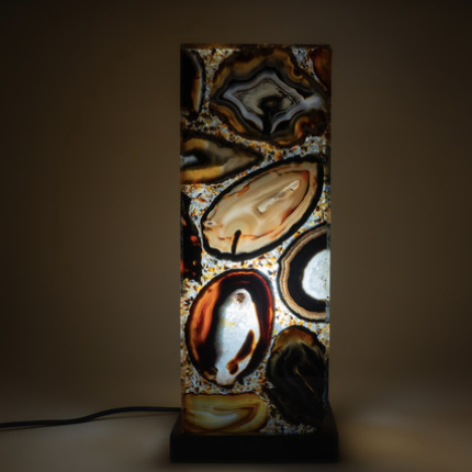 Agate Table Lamp - It's Okay To Be Weird
