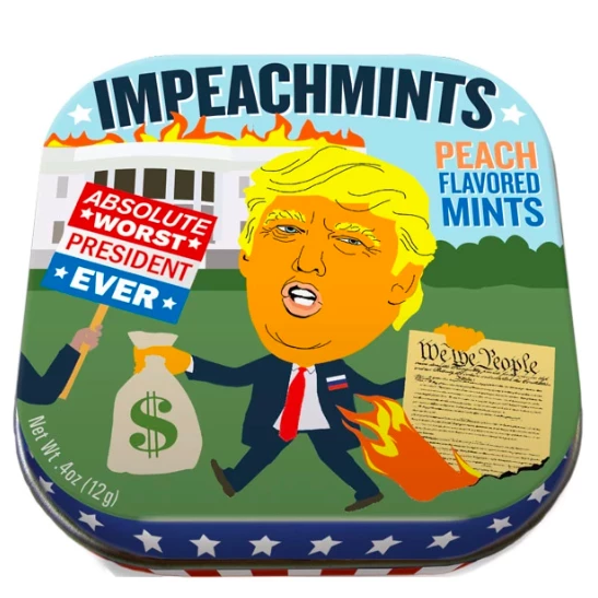Trump Impeachmints - It's Okay To Be Weird