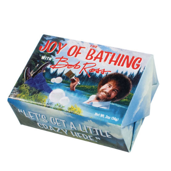 Bob Ross Soap - It's Okay To Be Weird