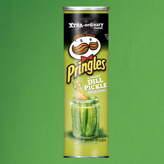 Pickle Pringles - It's Okay To Be Weird