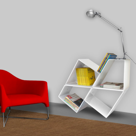 Transformable Bookcase