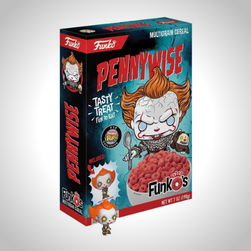 IT Pennywise Cereal - It's Okay To Be Weird