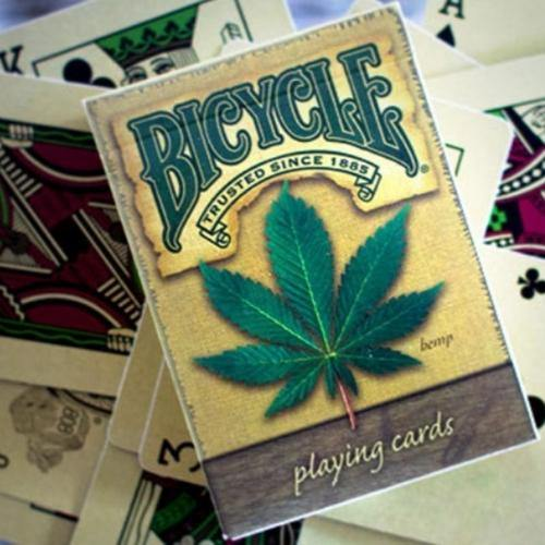 Bicycle Cannabis Playing Cards - It's Okay To Be Weird