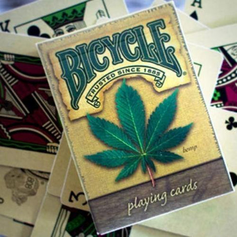 Bicycle Cannabis Playing Cards