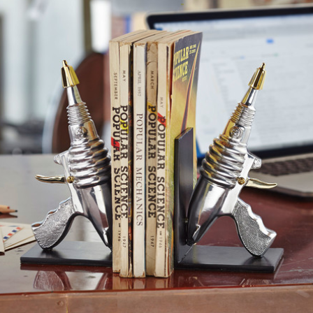 Ray Gun Bookends - It's Okay To Be Weird