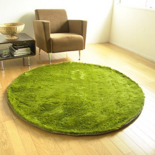Grass Inspired Rug - It's Okay To Be Weird