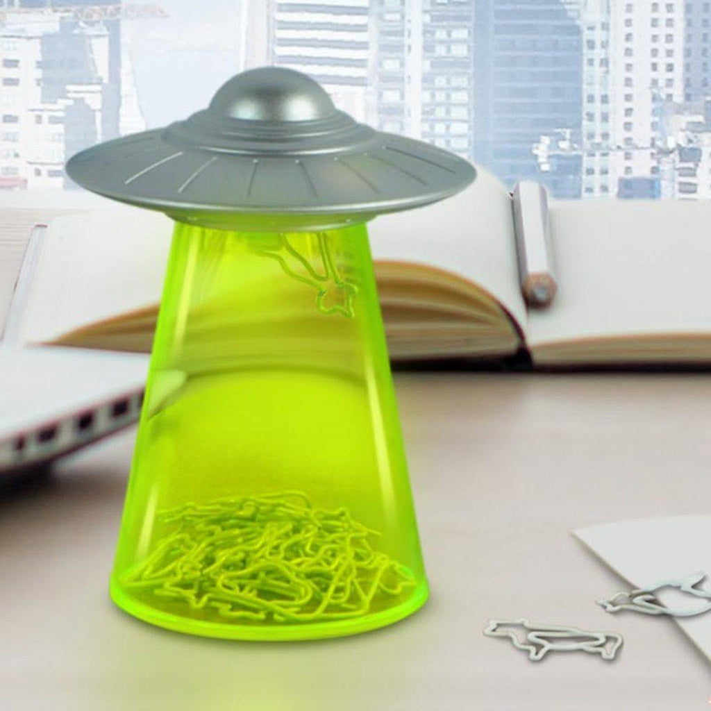 UFO Paper Clip Holder - It's Okay To Be Weird