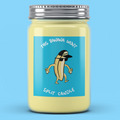 This Banana Won't Split Candle - It's Okay To Be Weird