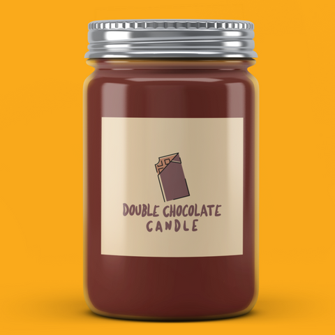Double Chocolate Candle - It's Okay To Be Weird
