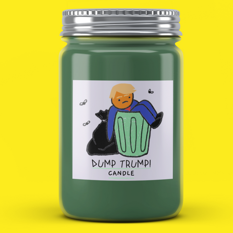 Dump Trump Candle - It's Okay To Be Weird