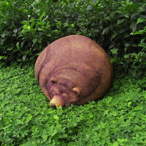 Realistic Sleeping Bear Bean Bag - It's Okay To Be Weird
