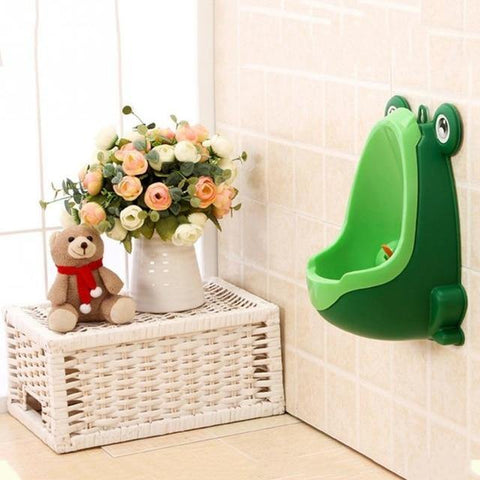 Boys Frog Urinal - It's Okay To Be Weird