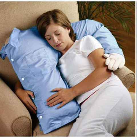 Boyfriend Snuggle Pillow - It's Okay To Be Weird