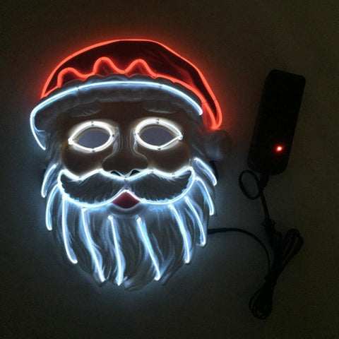 Santa Claus LED Mask