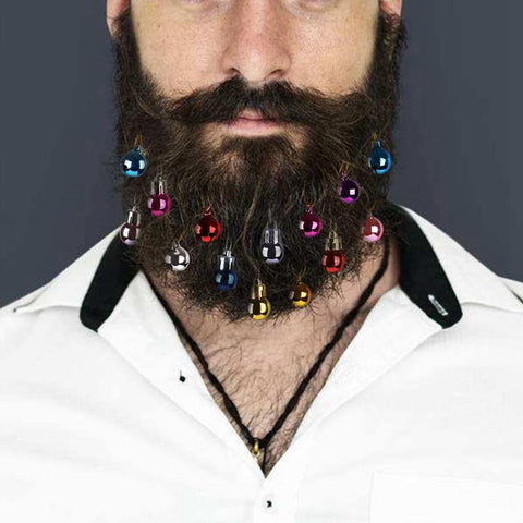 Christmas Ball Beard Ornaments - It's Okay To Be Weird
