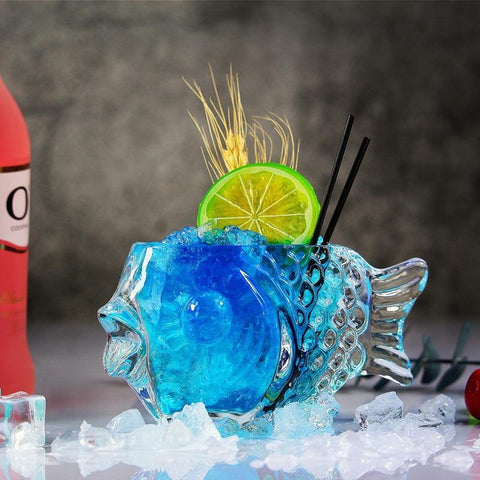 Fish Cocktail Glass - It's Okay To Be Weird