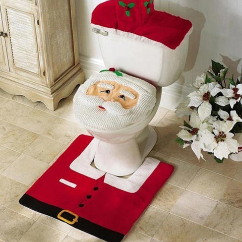 Santa Claus Toilet Set - It's Okay To Be Weird