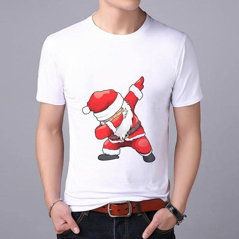 Santa Claus Dabbing T-shirt - It's Okay To Be Weird