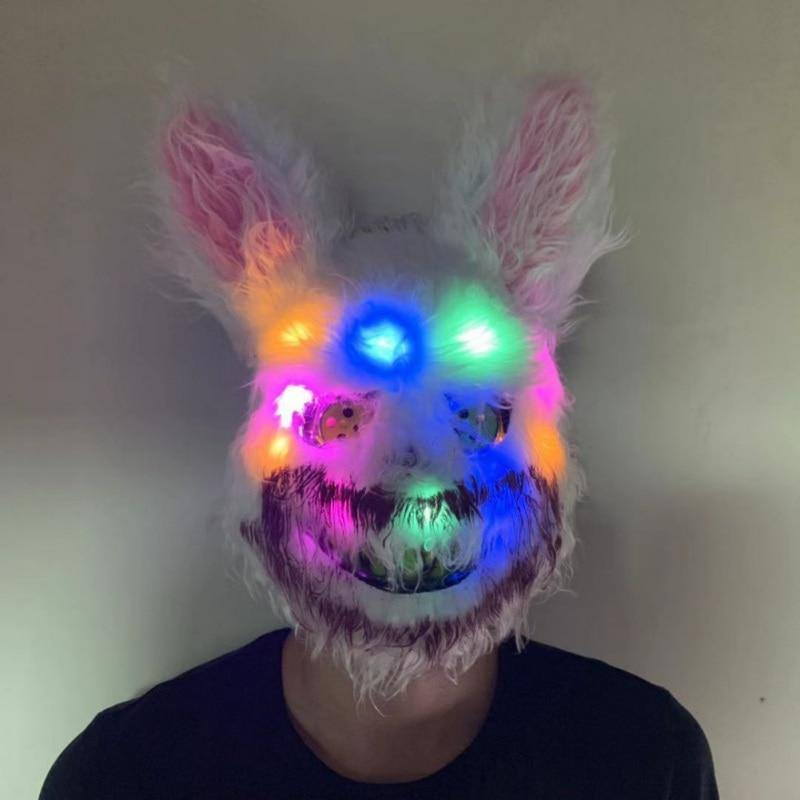 LED Killer Bunny Mask - It's Okay To Be Weird