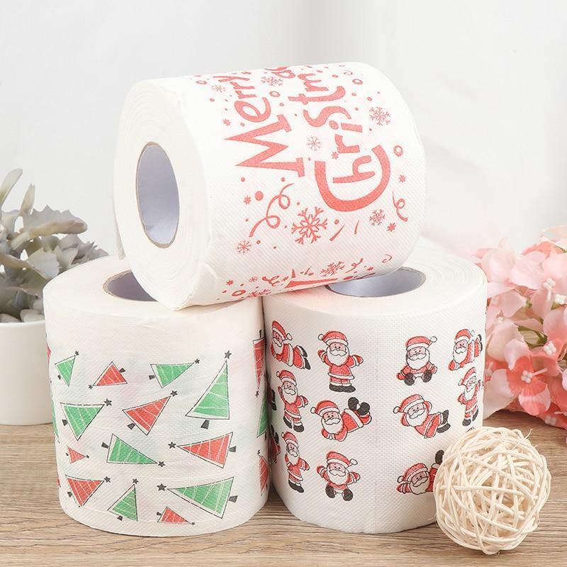 Festive Christmas Toilet Paper - It's Okay To Be Weird