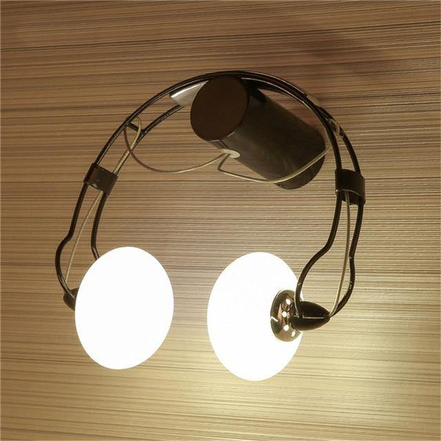Headphone Wall Light