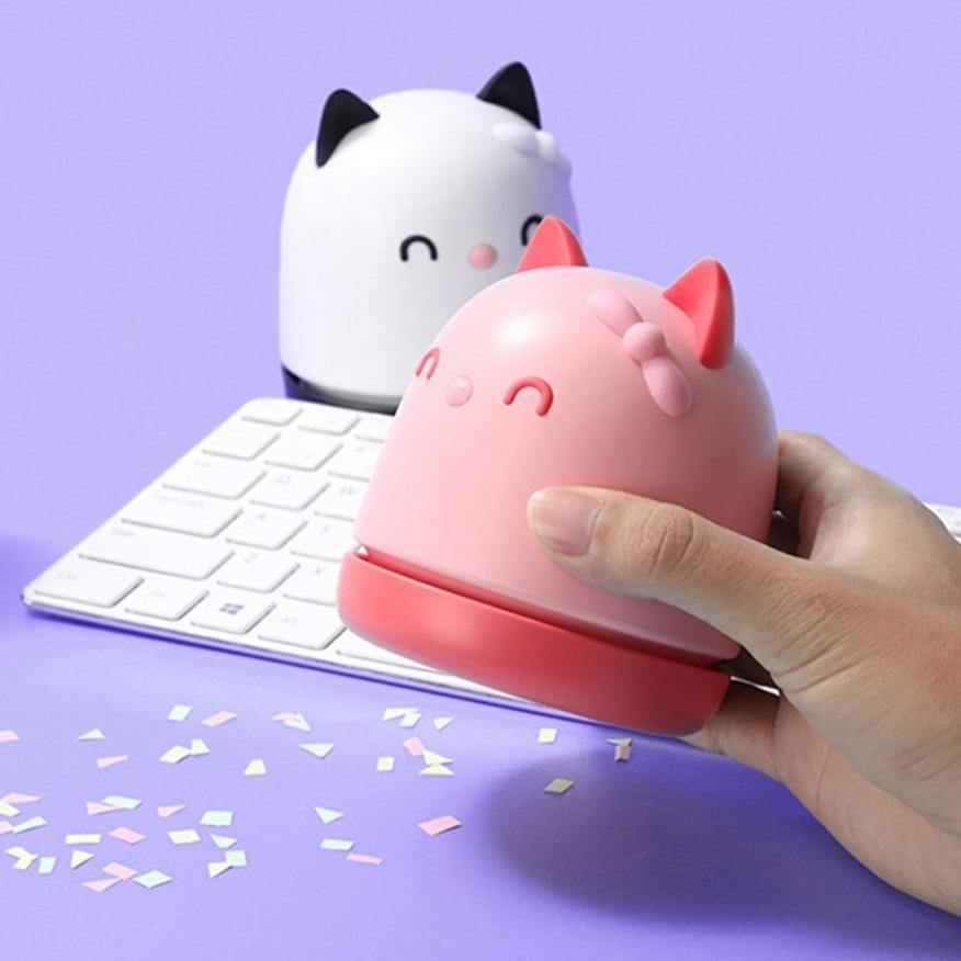 Mini Cat Desk Vacuum Cleaner
