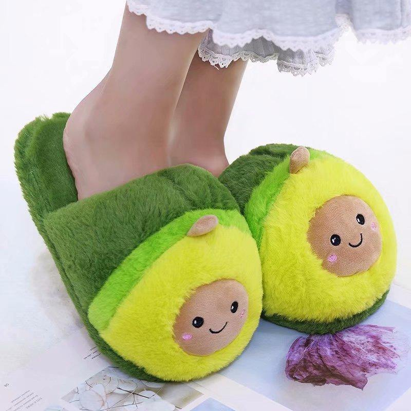 Avocado Slippers - It's Okay To Be Weird