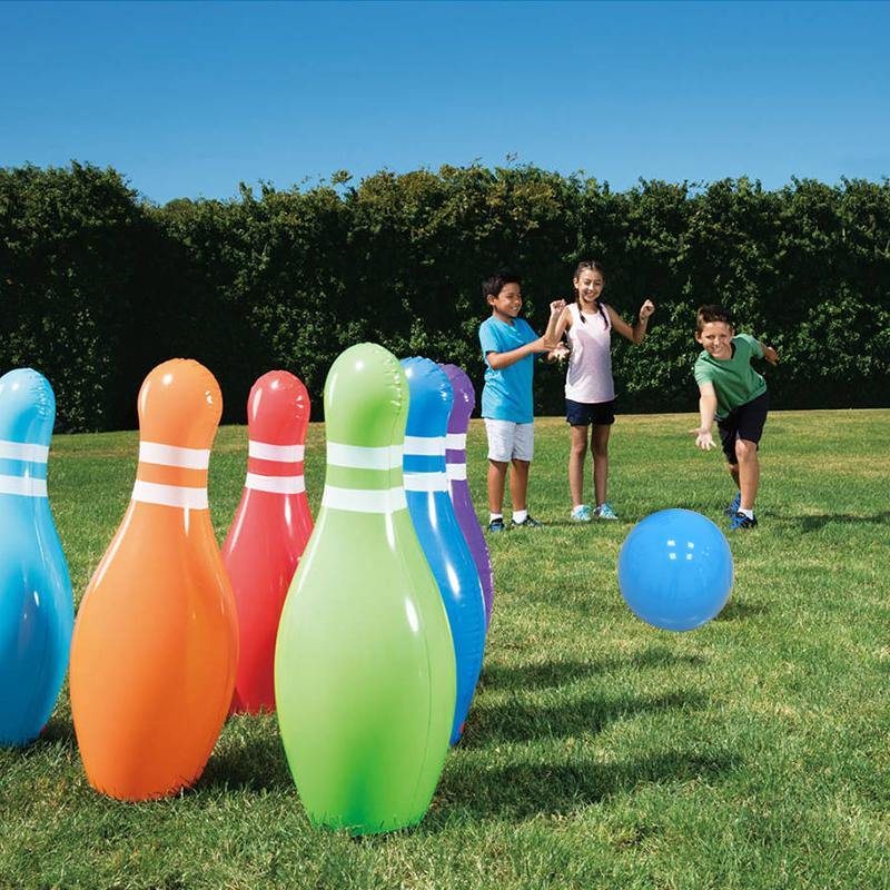 Inflatable Bowling Set - It's Okay To Be Weird