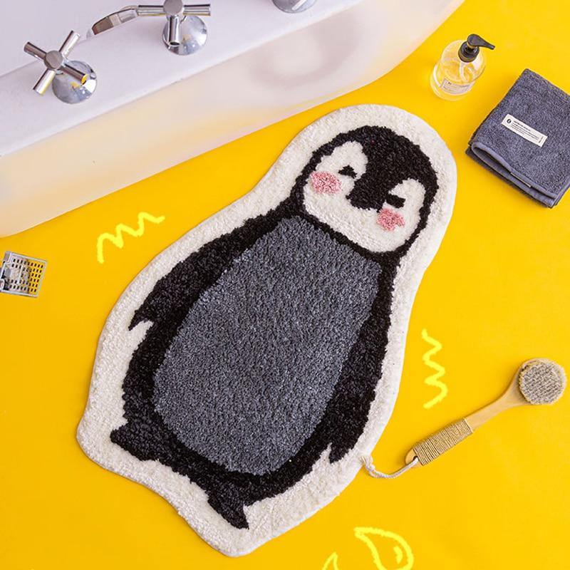 Penguin Bathroom Mat