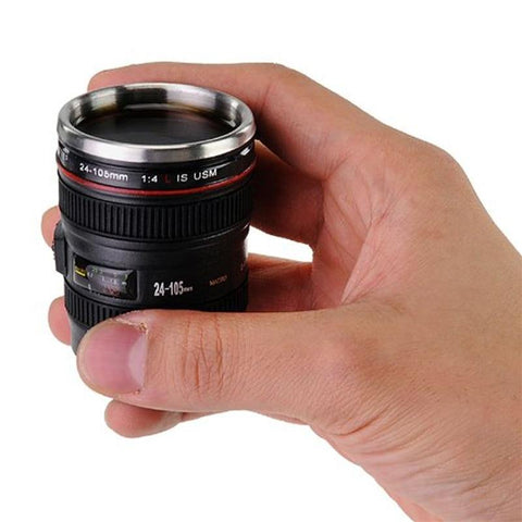 50ml Camera Lens Cups - It's Okay To Be Weird