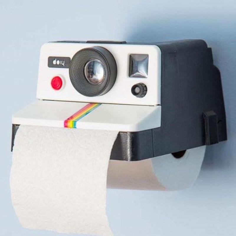 Polaroid Camera Toilet Roll Paper Holder - It's Okay To Be Weird