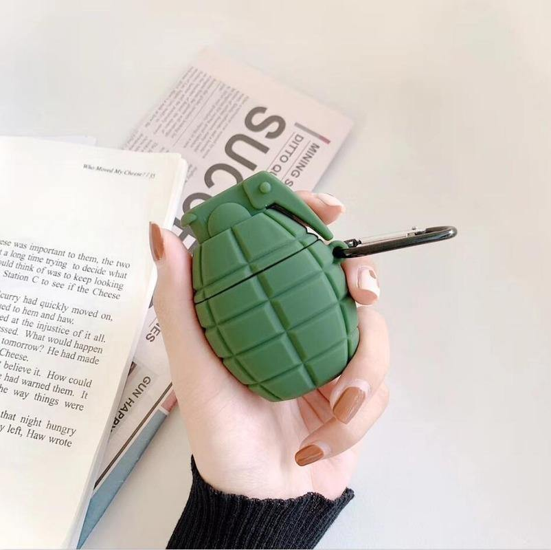 Grenade Airpods Case - It's Okay To Be Weird