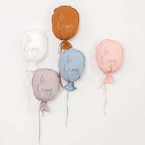 Be Happy Cotton Wall Balloon - It's Okay To Be Weird
