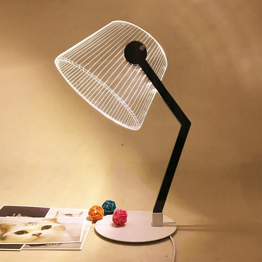 3D LED Desk Lamp - It's Okay To Be Weird