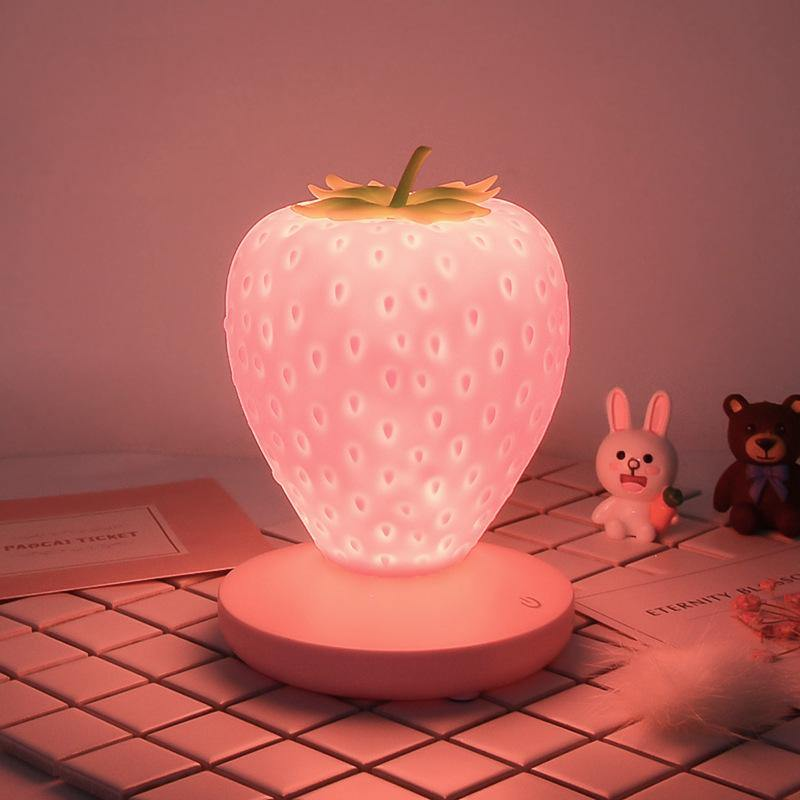 Strawberry Night Light - It's Okay To Be Weird