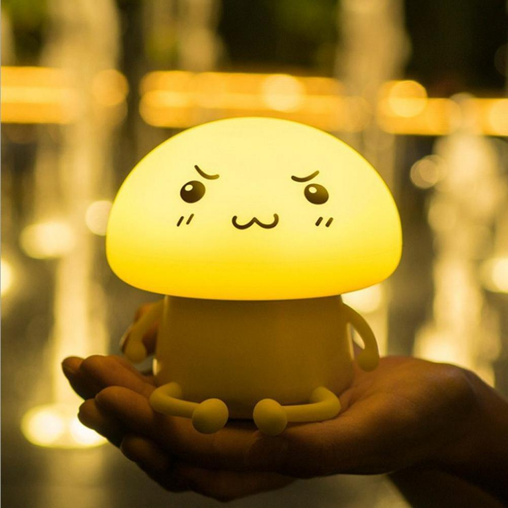 Mushroom LED Night Light - It's Okay To Be Weird