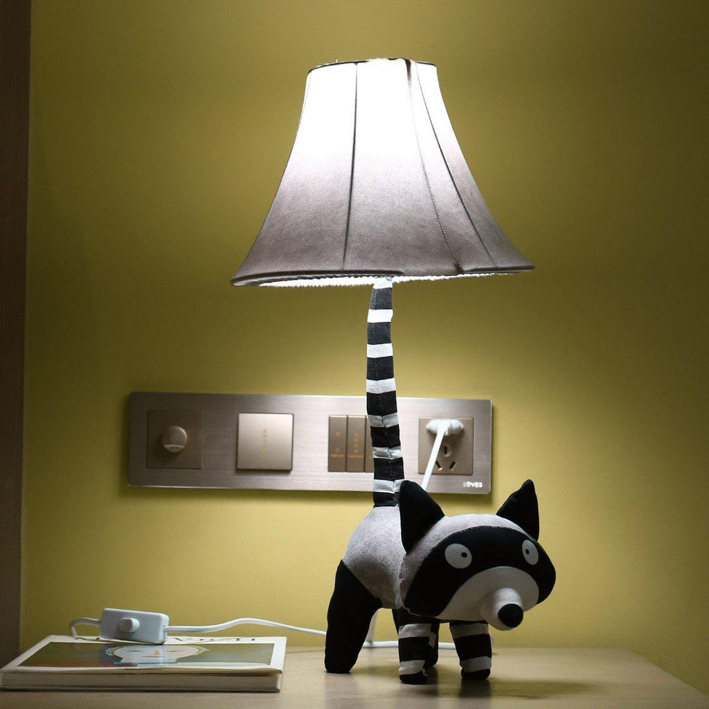 Raccoon Table Lamp