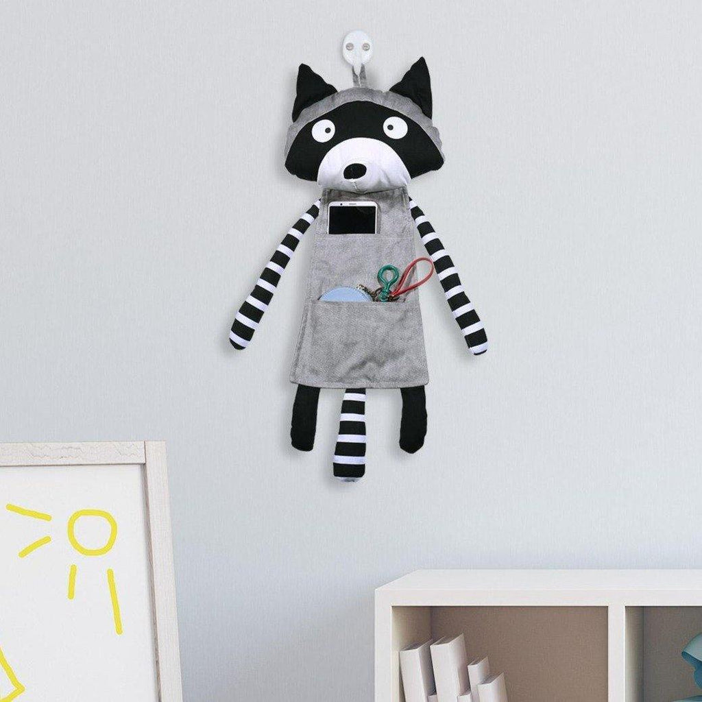 Raccoon Hanging Storage Bag
