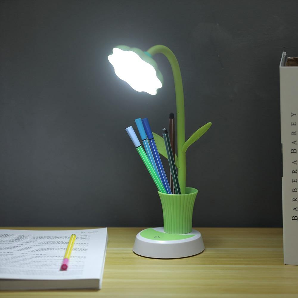 LED Sun Flower Table Lamp