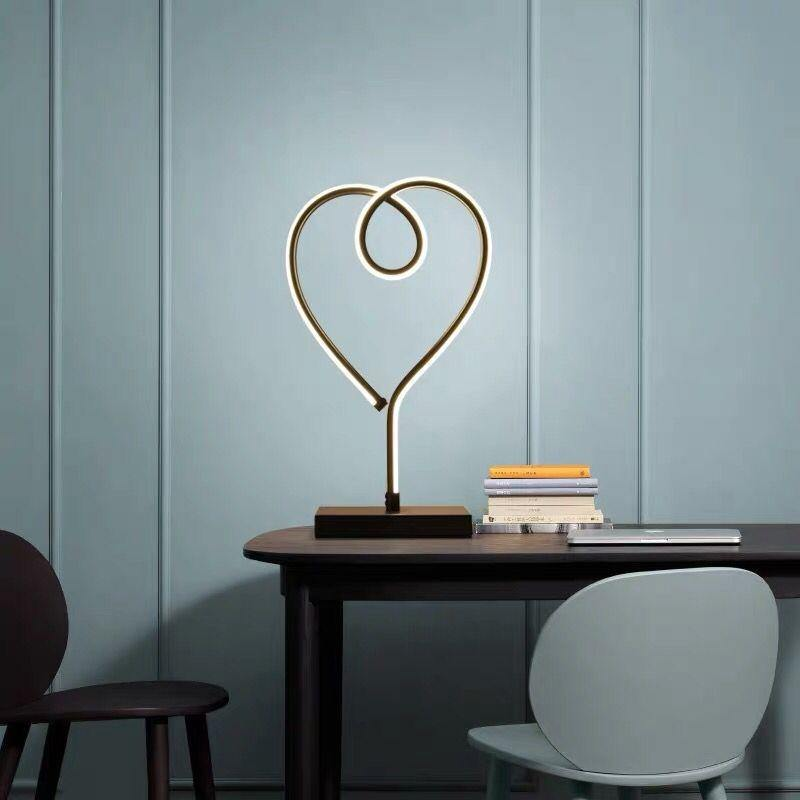 Heart Shaped Reading Desk Light - It's Okay To Be Weird