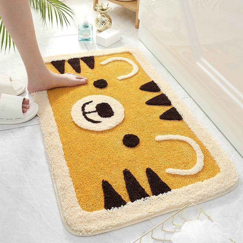 Roaring Tiger Bath Mat