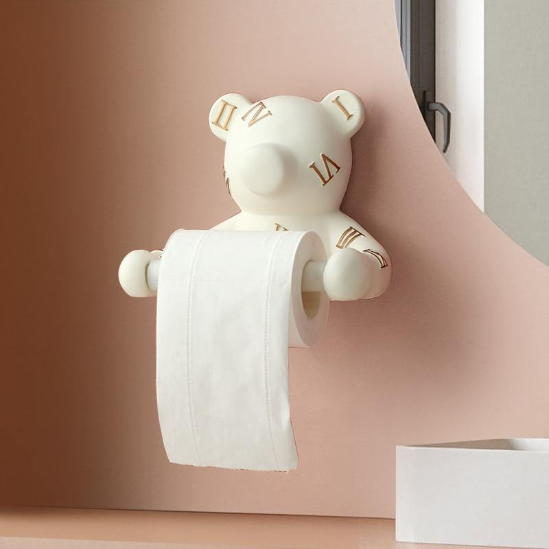 Teddy Bear Toilet Roll Holder - It's Okay To Be Weird