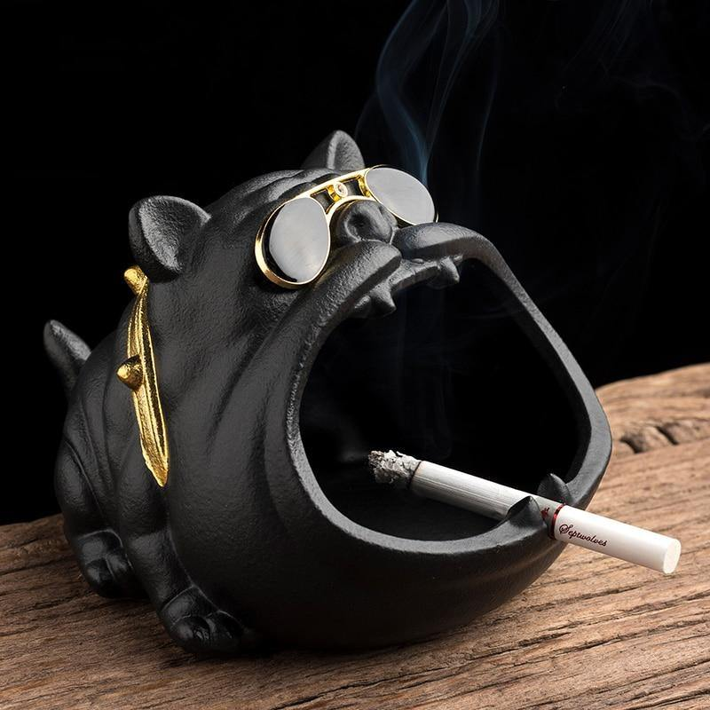 Dog Mouth Ashtray