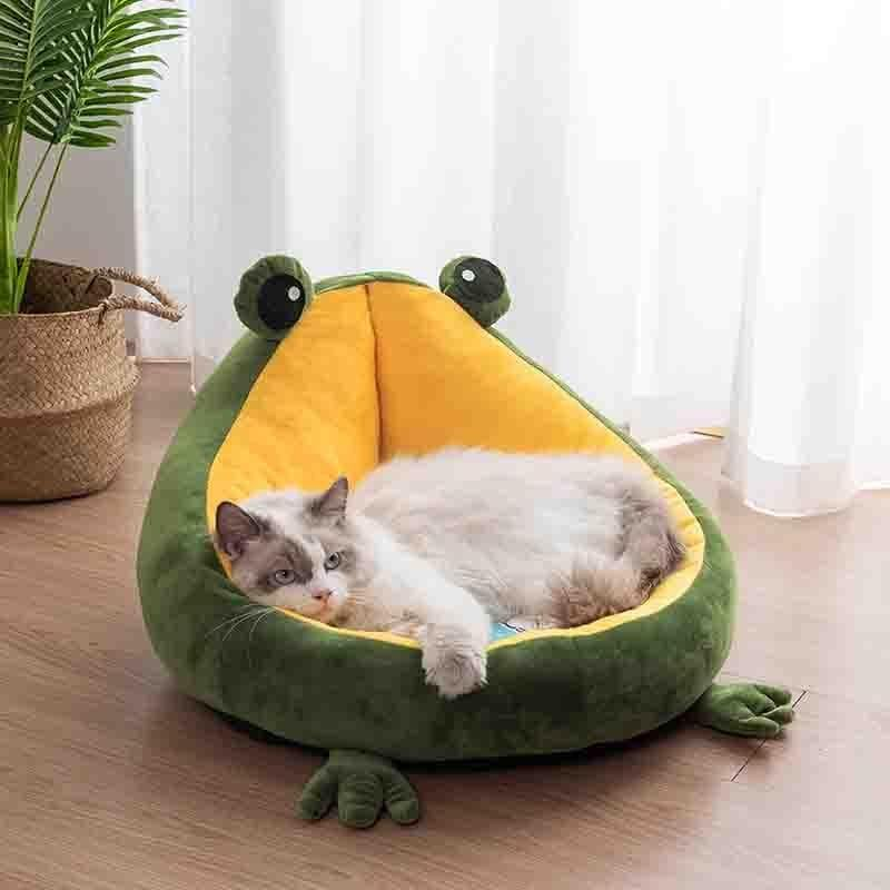 Frog Sleeping Bed